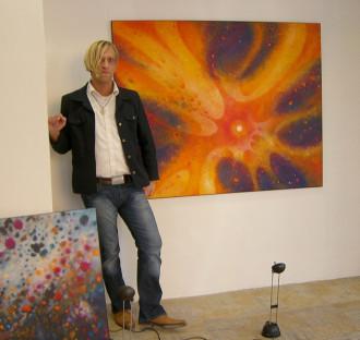 peter damm space cowboy  artist painter maler künstler