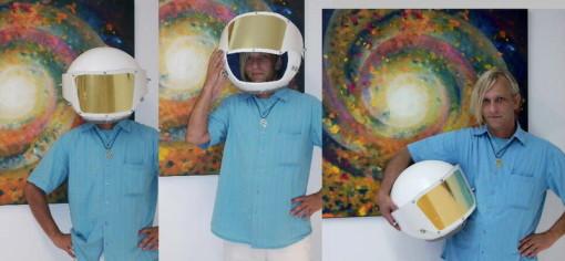 peter damm maler astronaut artist künstler