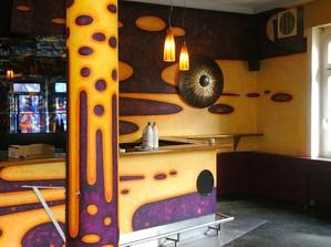 Cafe Wunderbar Frankfurt Höchst peter damm Gestaltung