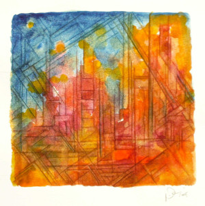 peter damm frankfurt  maler artist