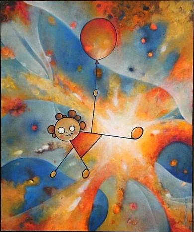 peter damm frankfurt Lucy in space